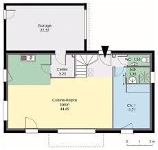 plan maison 7 chambres maison moderne plain pied 4 chambres 7 maison 2 d233tail du