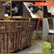 Wohnzimmerm El Selber Bauen Tv Mbel Aus Interesting Badezimmer Sideboard Modulare Regale Und