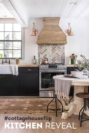 the kitchen cottage house flip reveal sue design blog