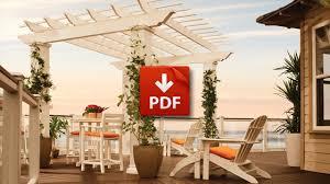 Trex Pergola Kit by Trex Outdoor Pergola Strategic Brand Licensing