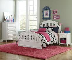 Isabella Bedroom Set Young America Legacy Classic Kids Academy 4 Piece Panel Bedroom Set In White
