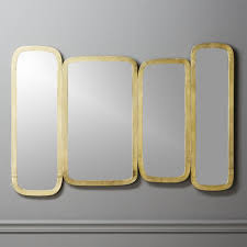 Narrow Wall Mirror Modern Mirrors Round Square And Standing Cb2