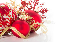Theme Ornaments Golden And Ornaments On White Background Merry