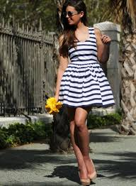 blogger style striped summer dresses 2013