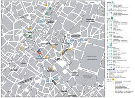 map brussels brussels city center map