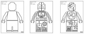 Minifigure Robot Coloring Pages Free Printable Coloring Sheets Coloring Pages Lego