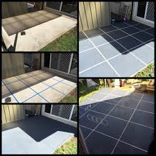 diy patio revamp give your concrete patio floor a whole new look