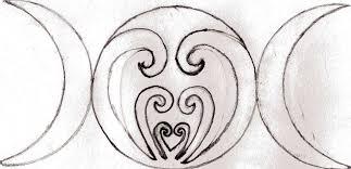 moon goddess symbol click for all 3 moons flickr