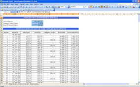 Payment Schedule Excel Template Mortgage Payment Table Spreadsheet Laobingkaisuo Com