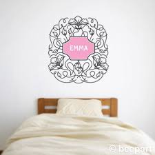 decorative flower vinyl wall decal ornate floral wall sticker decorative flower vinyl wall decal ornate floral wall sticker childs name wall decal free shipping