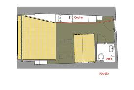studio flat floor plan small studio apartment conversion for a family in spain mountain