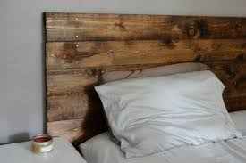 excellent diy wood headboard king size pics decoration inspiration