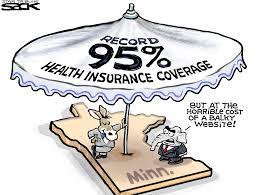 sack cartoon the health insurance umbrella startribune com