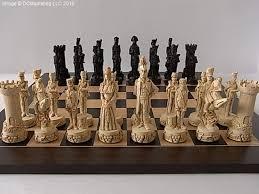 decorative beautiful chess sets interiors design