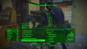 wwii colt 1911 at fallout 4 nexus mods and community
