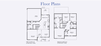 Powder Room Floor Plans by New Homes In York County U0026 Williamsburg Open Plans 2 Car Garage