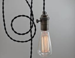 Bare Bulb Pendant Light Fixture Modern Bare Bulb Pendant Light