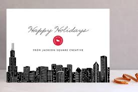 big city chicago business cards by hoora minted