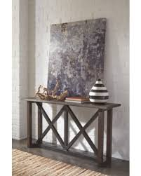 sofa tables on sale spring savings on zenfield sofa console table by ashley homestore