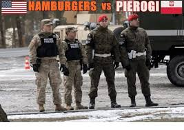 Military Police Meme - pierogi e hamburgers vs military police mp police meme on me me