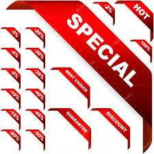 ribbons for sale corner ribbons for sale stock vector studiom1 1440858