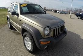 liberty jeep 2004 2004 jeep liberty sport 4x4 used suv martinsville in 17746m