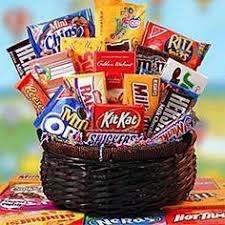 candy basket ideas candy gift basket i made for my craft ideas