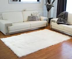 Modern Rugs Reviews Best 25 Faux Sheepskin Rug Ideas On Pinterest White Regarding Area