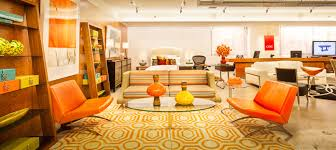 event furniture rental nyc cort celebrates new showroom in new york city hundreds attend