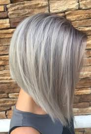 silver hair gray silver hair colors for bob hairstyles 2018