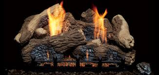 Fireplace Gas Log Sets by Berkley Oak Ceramic Vent Free Gas Logs By Monessen Hearth