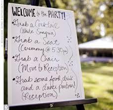 Wedding Program Board Ar Bainise Inspiration Ideas Plans