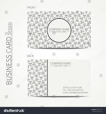 vector simple business card design template stock vector 440576113