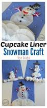 cupcake liner snowman craft snowman crafts cupcake liners and
