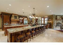 Kitchen With Two Islands Massive Kitchen With Two Full Width Islands One Island Offers