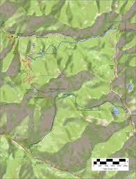 Desolation Wilderness Map Mill Creek To Desolation Lake