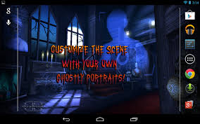 live halloween wallpaper haunted house hd android apps on google play