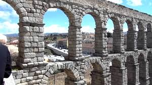 segovia roman aqueduct and city inside the walls youtube
