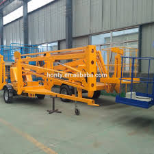 sale china boom lift articulating manlift small boom lifts