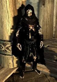 Skyrim Halloween Costume Wip Jarek Custom Voiced Skeleton Necromancer Follower Skyrim