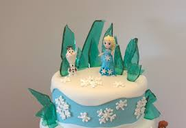 frozen themed birthday cake u2013 a little of this and a little of that