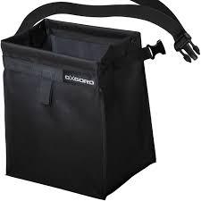 oxgord car waste basket leak proof bag for trash or storage