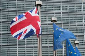 German British Flag Free Trade Deal With Brits Will Minimize Harm To Eu Economy