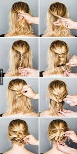 Schnelle Hochsteckfrisurenen Kurze Haare by Hochsteckfrisuren Kurze Dünne Haare Looks Dünnes