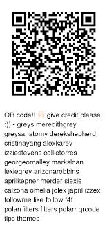 Qr Memes - li qr code give credit please greys meredithgrey