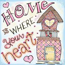 Home Is Where The Heart Is Home Is Where Your Heart Is Handlettered Drawing The
