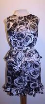 isaac mizrahi target dress xl blue navy tie waist casual career