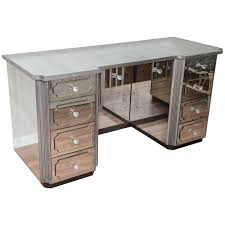 mirrored makeup vanity table mirrored vanity table with drawers table foxy zarina antique silver