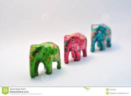 ornamental elephants royalty free stock image image 10454656