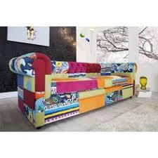 sofa bunt moderne chesterfield bank 3 zits mat wit 11222 banken